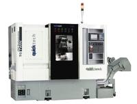 采用2+1轴搭配刀塔系统的CNC多工电脑数值控制车床