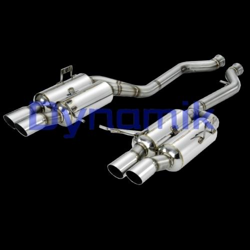 Dynamik Rear Muffler for E92 M3, GT-Version.