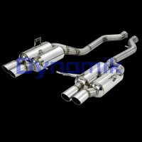 Dynamik Rear Muffler for E92 M3, GT-Version.