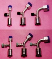 Hose Fitting AL/Nut/Screw Crimp Type
