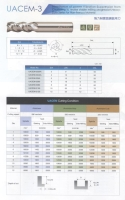 Solid Carbide Unequal 3-Flute Heavy Duty End Mill (Aluminum, Graphite), Vibration-suppression