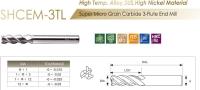 Super Micro Grain Carbide 3-Flute End Mill