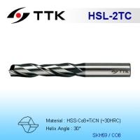 HSS 2-Flute End Mill Long Flute