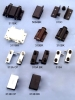 Glass Door Parts, Glass Door Hinge, Push Clip, Door Catch