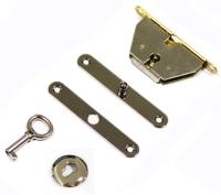 木盒鎖, 珠寶盒鎖, 手錶盒鎖, 雪茄盒鎖, 禮盒鎖, 鎖扣