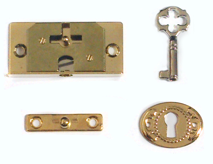 Mortise lock, Humidor Box Lock, Jewel Box Lock, Wooden Box Lock