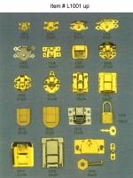 木盒锁, 珠宝盒锁, 手表盒锁, 雪茄盒锁, 礼盒锁, 锁扣