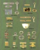Wine box lock, box clasp, Mortise lock, Humidor Box Lock, Jewel Box Lock, Wooden Box Lock, Pad lock