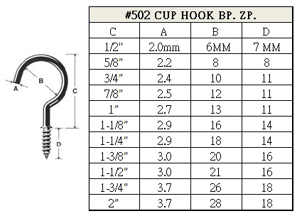 Cup Hook
