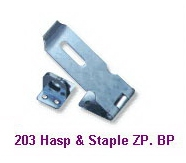 Hasp & Staple