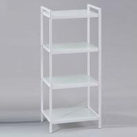 4-tier Aluminum-alloy Glass Rack