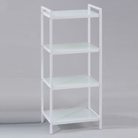 4-tier Aluminum-alloy Glass Rack