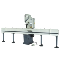 Human-machine-interface NC Linear Sheet-Leveling Machine 高精密油壓伺服整形校直機