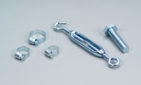 Iron-pipe clip & Tension hook &  Screw