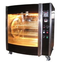 Rotary Infrared Chicken Griller
