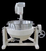 Cooking Mixer-180C Single Bowl Double Stove Base (Tilting Type)