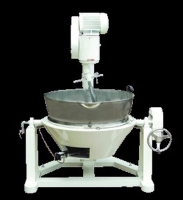 Cooking Mixer-280B Double Bowl Double Stove Base (Tilting Type)