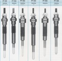 Glow plug for TOYOTA