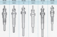 Glow plug for INDUSTRIAL DIESEL ENGINES