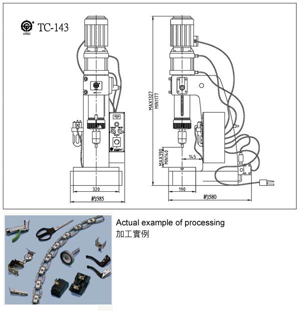 Pneumatic riveting machine atoli machinery co ltd