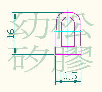 Cens.com Irregularly-Shaped Silicone Rubber Strips & Linings YOW SONG INJECTION MOLDING CO., LTD.