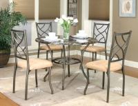 铁制餐桌椅