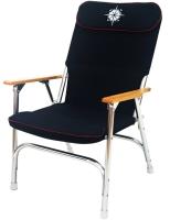 Folding deck chair
