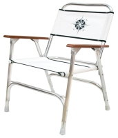 Folding deck chair