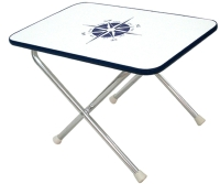 Small rectangular folding Deck Table