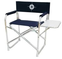 Folding deck chair desk