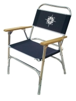 Folding deck chairs