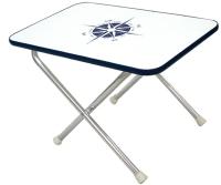 Small rectangular folding Deck Table