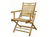 竹制折合椅
