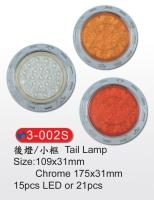 Tail Lamp W/Small Rim