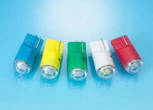 LED T10-SMD. 3 chips Wedge Base Lamp