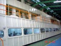 密閉防塵送風型塗裝生產線