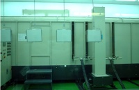 Automated powder-coating machines