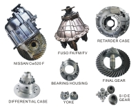 DIFFERENTIAL ASSY & PARTS