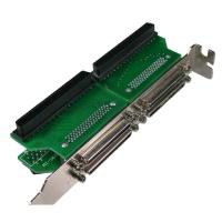 Internal to External VHDCI 68 adapter