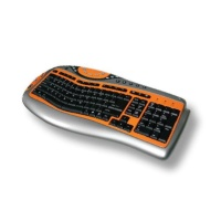 Cens.com Curves Multimedia Keyboard (wireless & USB Cable) SOLID YEAR CO., LTD.