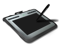 8x5 Wireless Graphic Tablet