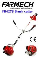 Brush cutter/Grass trimmer/String trimmer