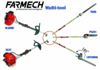 Multi tool/Hedge trimmer /Pole saw/Brush cutters /Lawn mowers and accessories