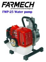 Water pump/2-stroke engine