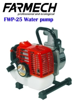 Water pump/2-stroke engine