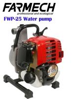 Water pump/4-stroke engine