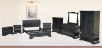 Wooden Cabinets, Wood Beds, Vanities / Dressers / Dressing Tables, Mirrors