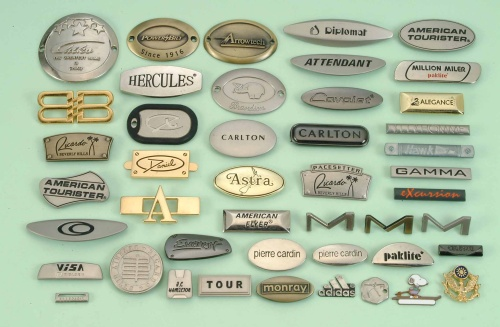 Mold - Embossed Metal Logos