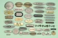 Mold - Embossed Metal Logos