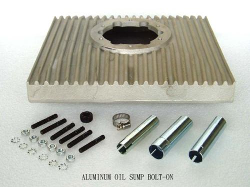 ALUMINUM OIL SUMP BOLT-ON